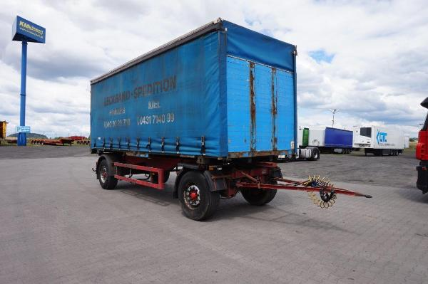 Przyczepa ciężarowa BALD - KM Import
