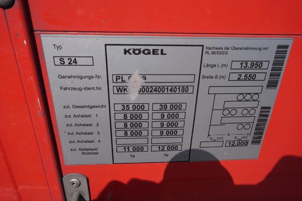 Naczepa ciężarowa KOEGEL