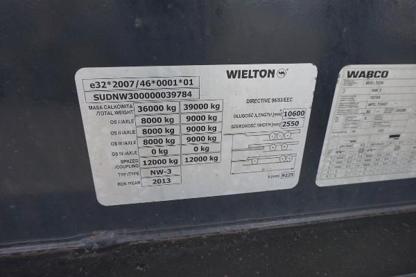 Naczepa ciężarowa WIELTON