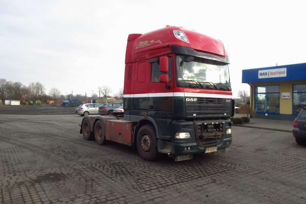 Ciągnik siodłowy DAF - KM Import