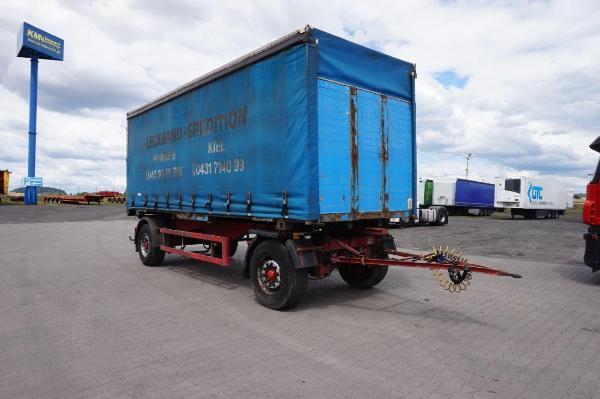 Przyczepa ciężarowa BALD- KM Import