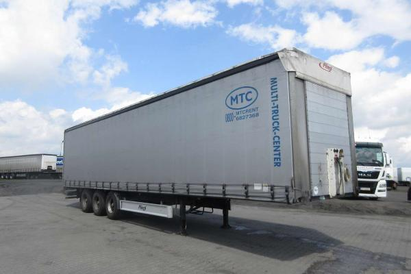 Naczepa ciężarowa FLIEGL- KM Import