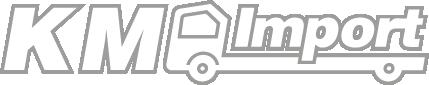 KM Import - Naszym koniem są ciężarówki - Logo