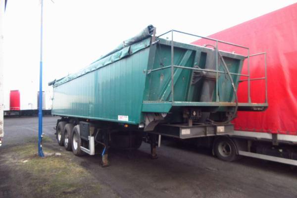 Naczepa ciężarowa CMT - KM Import