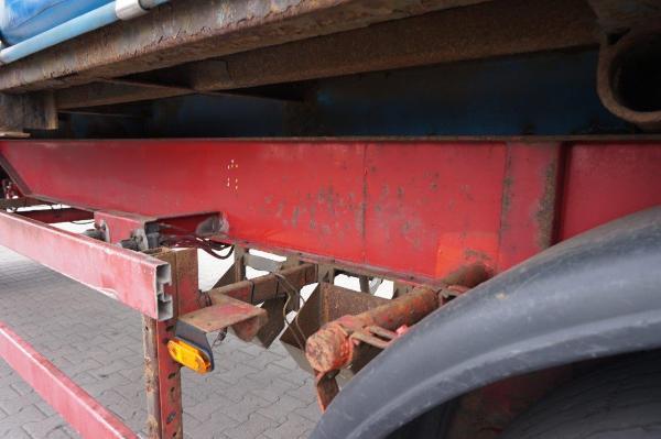 Przyczepa ciężarowa BALD