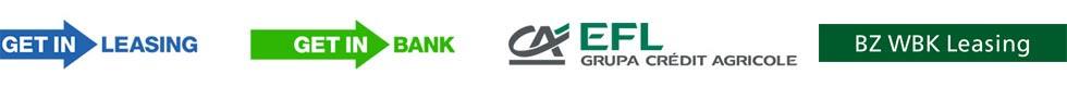 CA, Get In Bank, Get In Leasing, BZWBK Leasing - Logo