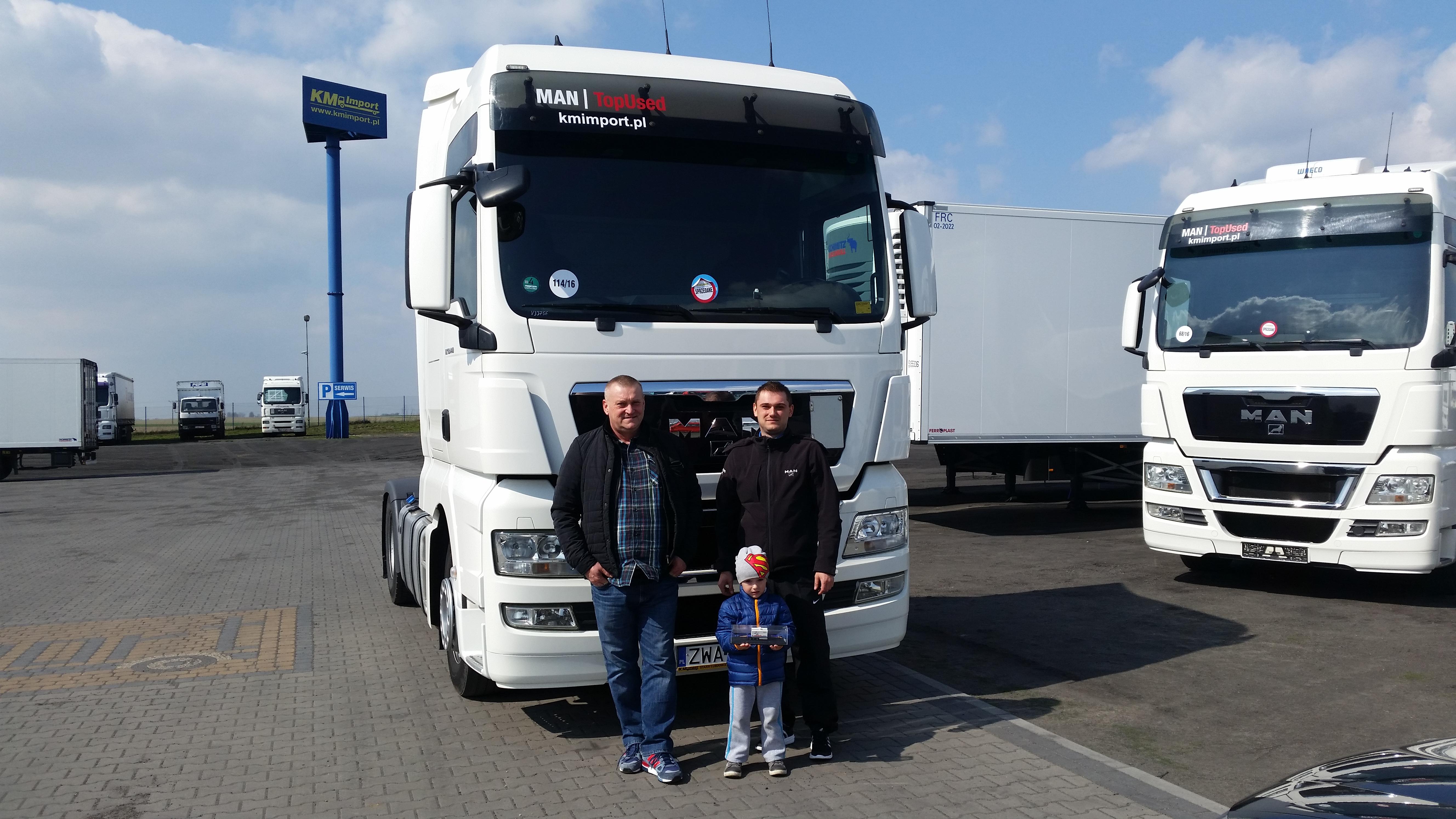 3 pokolenia Kowalczyk Transport - KM Import