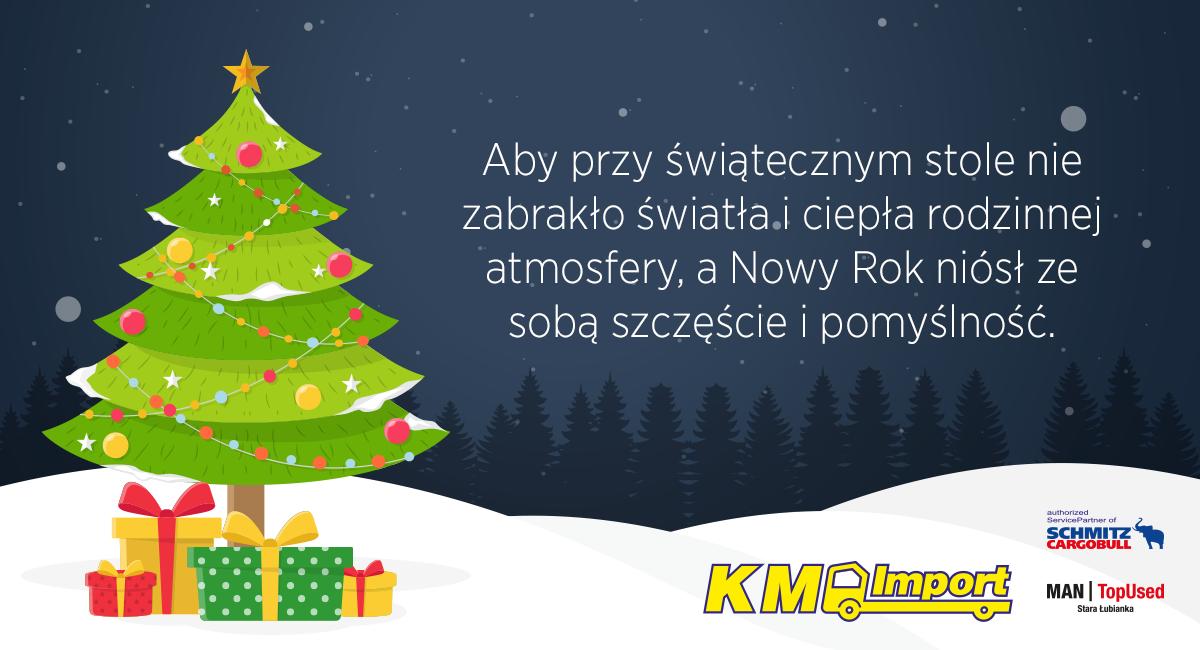 Wesołych Świąt! - KM Import