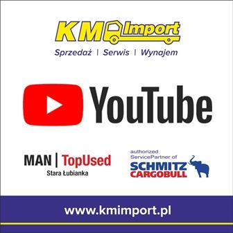KM IMPORT na kanale YouTube - KM Import