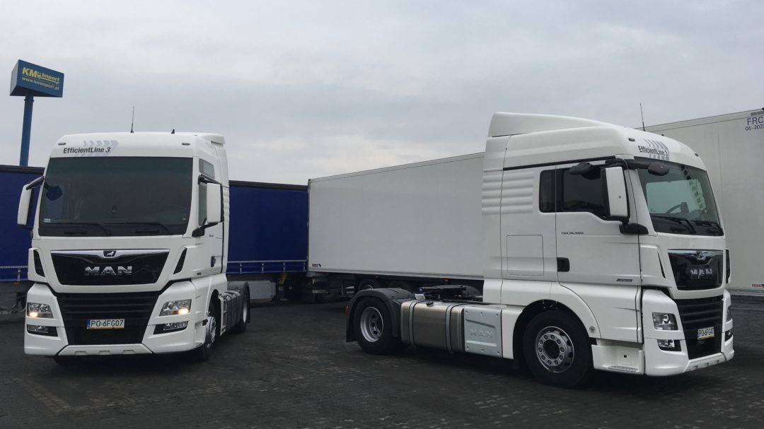 NOWY MAN TGX 2018 - KM Import