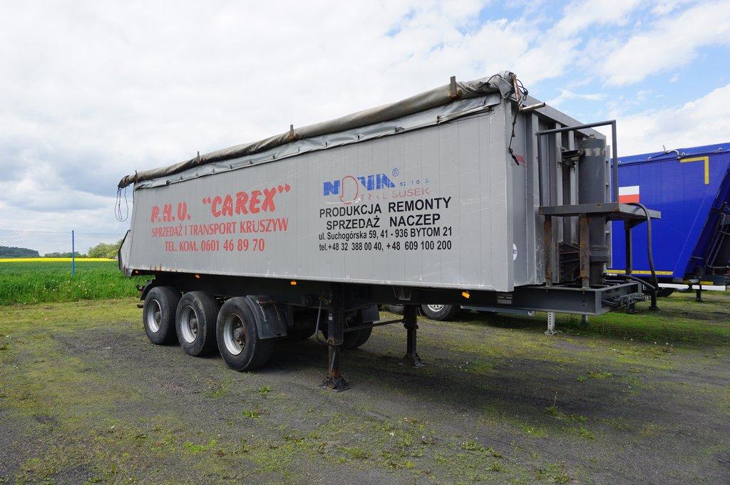 Naczepa ciężarowa NOVATRAIL- KM Import