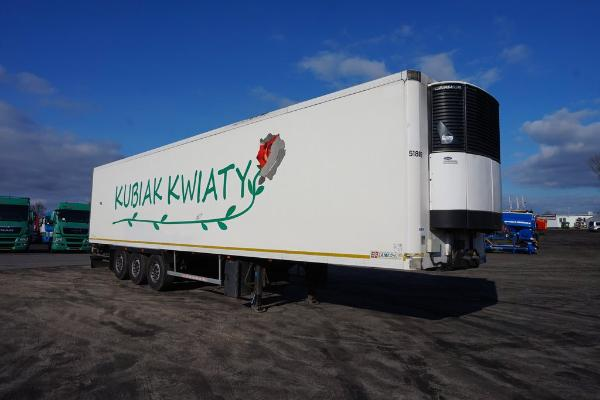 Naczepa ciężarowa LAMBERET- KM Import