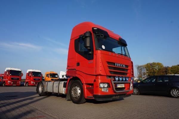 Ciągnik siodłowy IVECO- KM Import