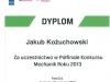 MECHANIK ROKU - DYPLOM