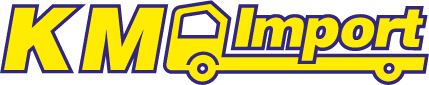 KM Import - Our main priority are vehicles - Logo