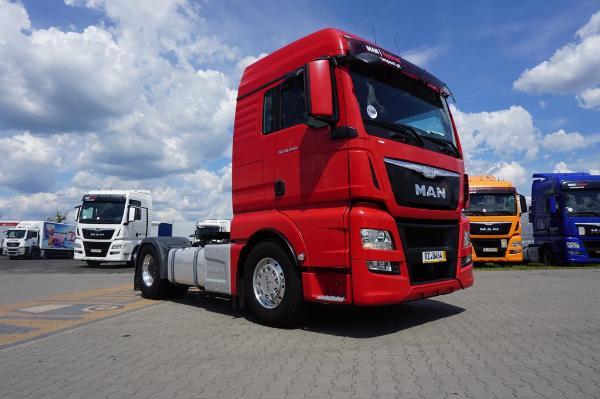 Ciągnik siodłowy MAN- KM Import