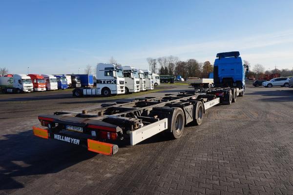 Przyczepa Ciężarowa WELLMEYER- KM Import