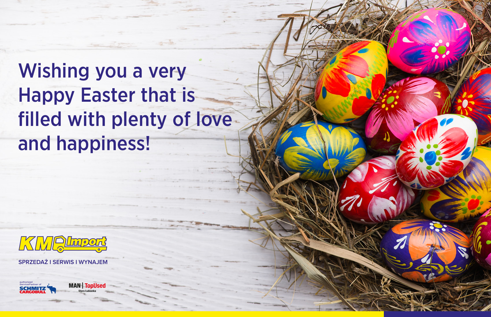 Happy Easter! - KM Import