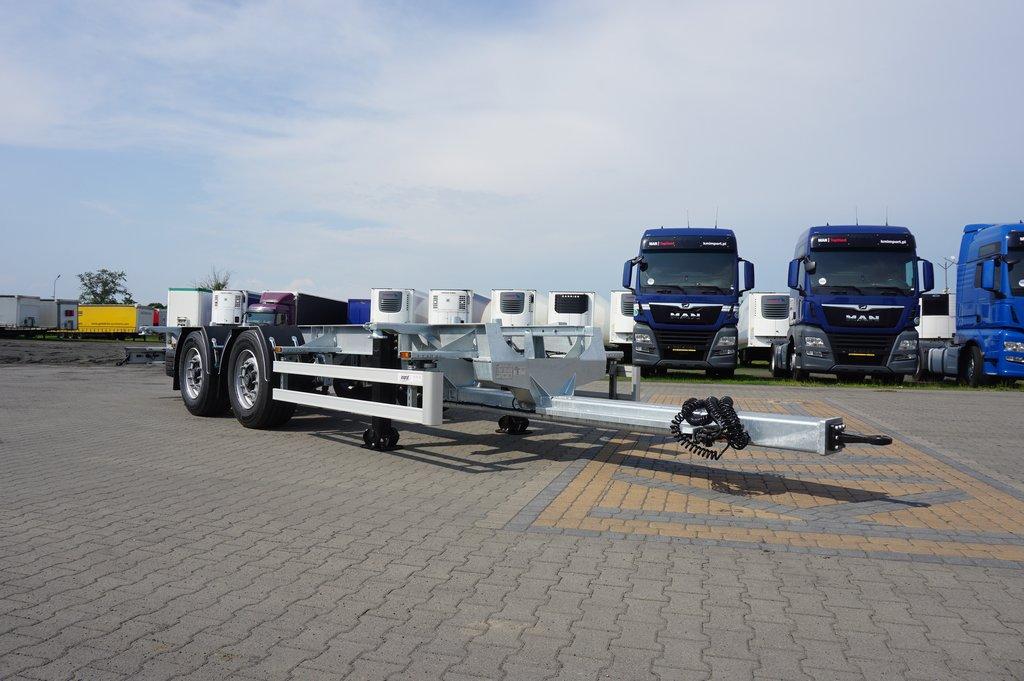 Przyczepa ciężarowa ASGRAF- KM Import