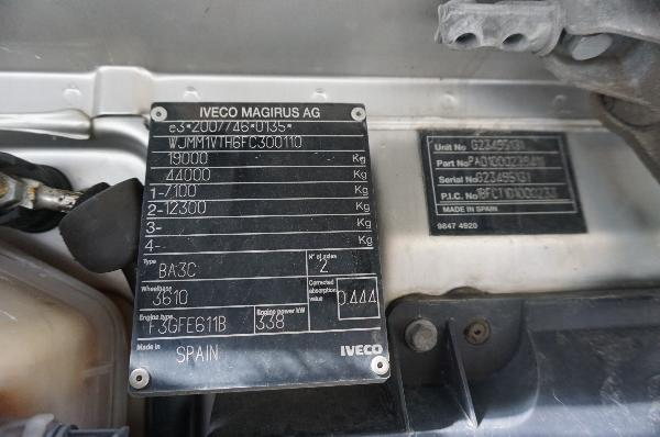 Ciągnik siodłowy IVECO