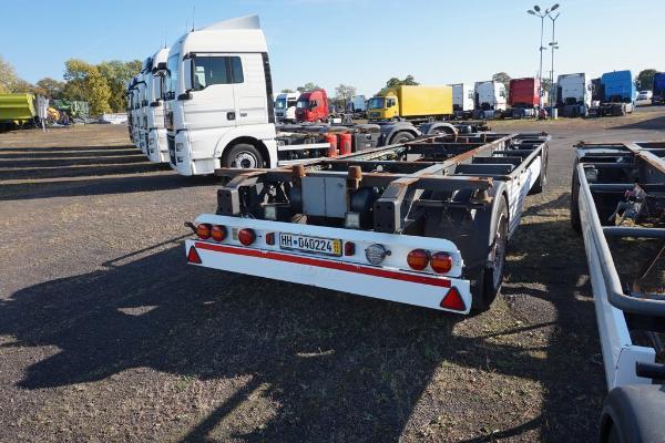Przyczepa ciężarowa KRONE - KM Import