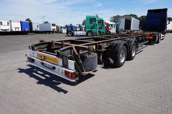 Przyczepa ciężarowa SCHMITZ- KM Import