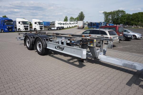 Przyczepa ciężarowa FLIEGL- KM Import