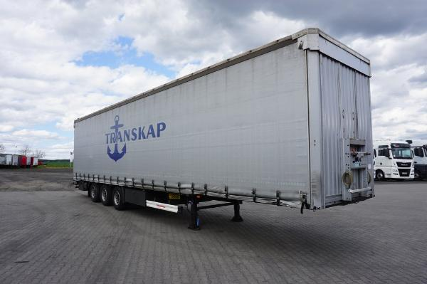 Naczepa ciężarowa KAESSBOHRER- KM Import