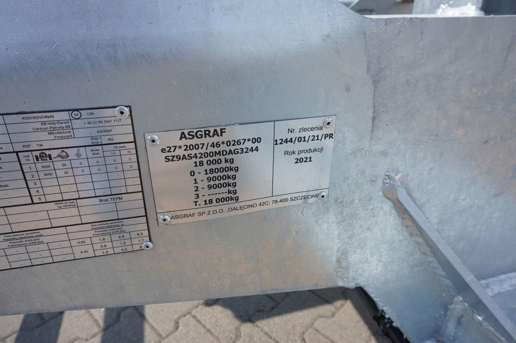 Przyczepa ciężarowa ASGRAF