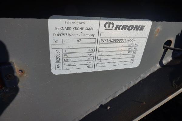 Przyczepa ciężarowa KRONE