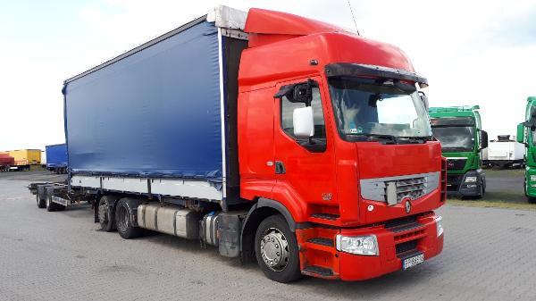 Samochód ciężarowy RENAULT