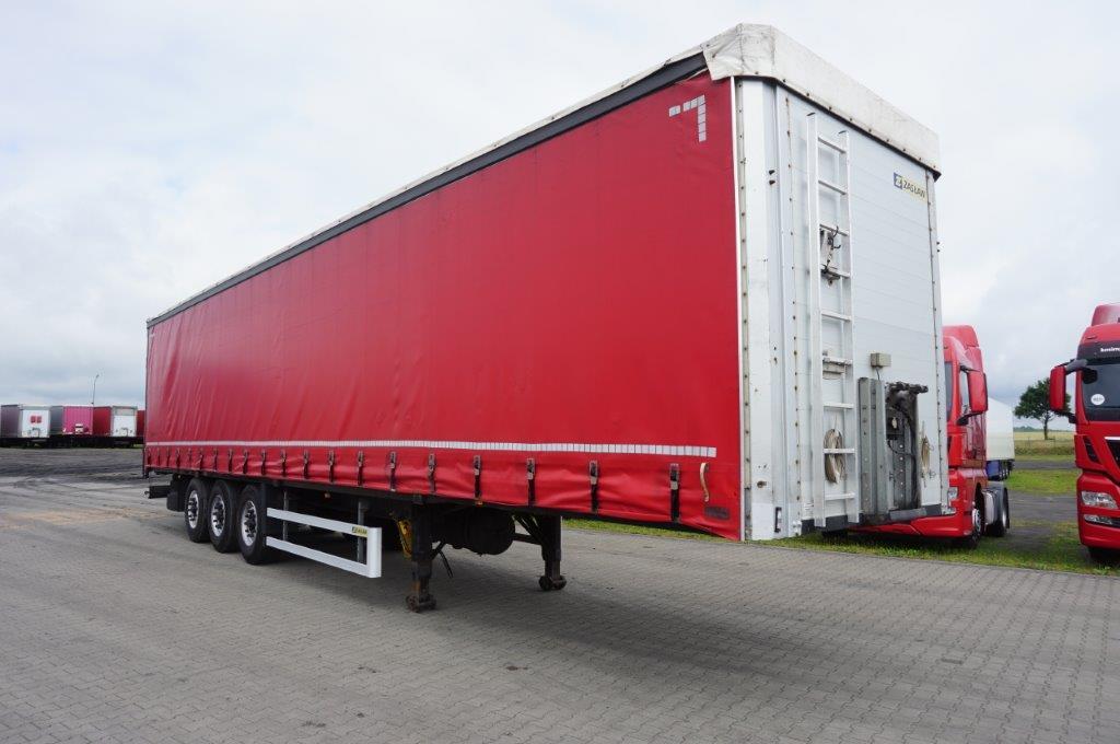 Naczepa ciężarowa ZASŁAW- KM Import
