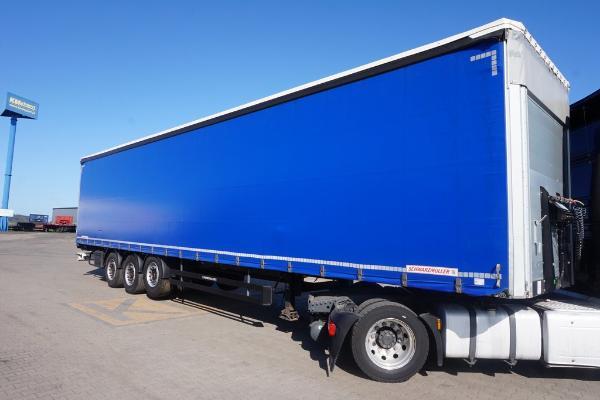 Naczepa ciężarowa SCHWARZMULLER- KM Import