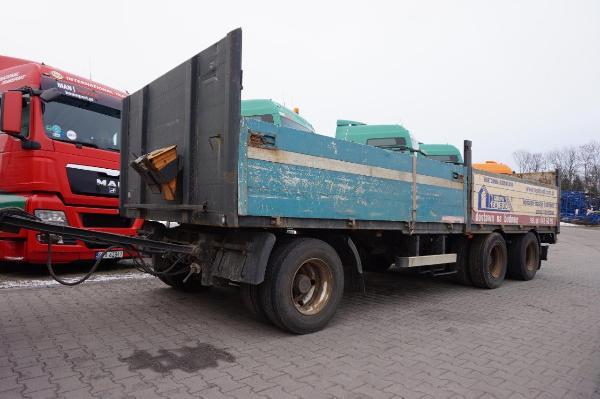 Przyczepa ciężarowa PEISCHL- KM Import
