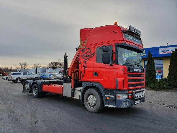 Samochód ciężarowy SCANIA- KM Import