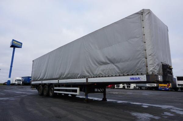 Naczepa ciężarowa MEGA- KM Import