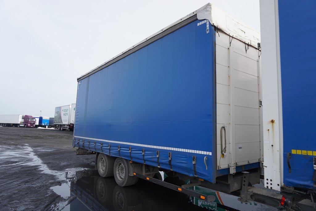 Przyczepa ciężarowa H&W- KM Import