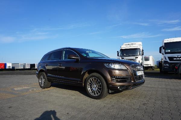 Samochód ciężarowy AUDI - KM Import