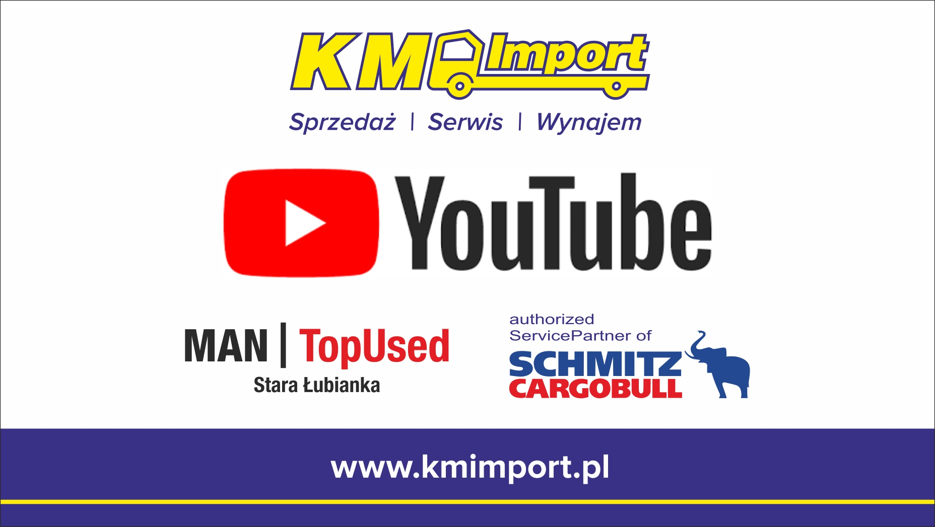 KM IMPORT na kanale YouTube - KM Import