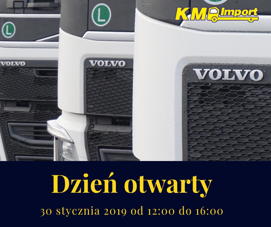 Dzień otwarty w KM Import – nowy asortyment Volvo FH 500 - KM Import
