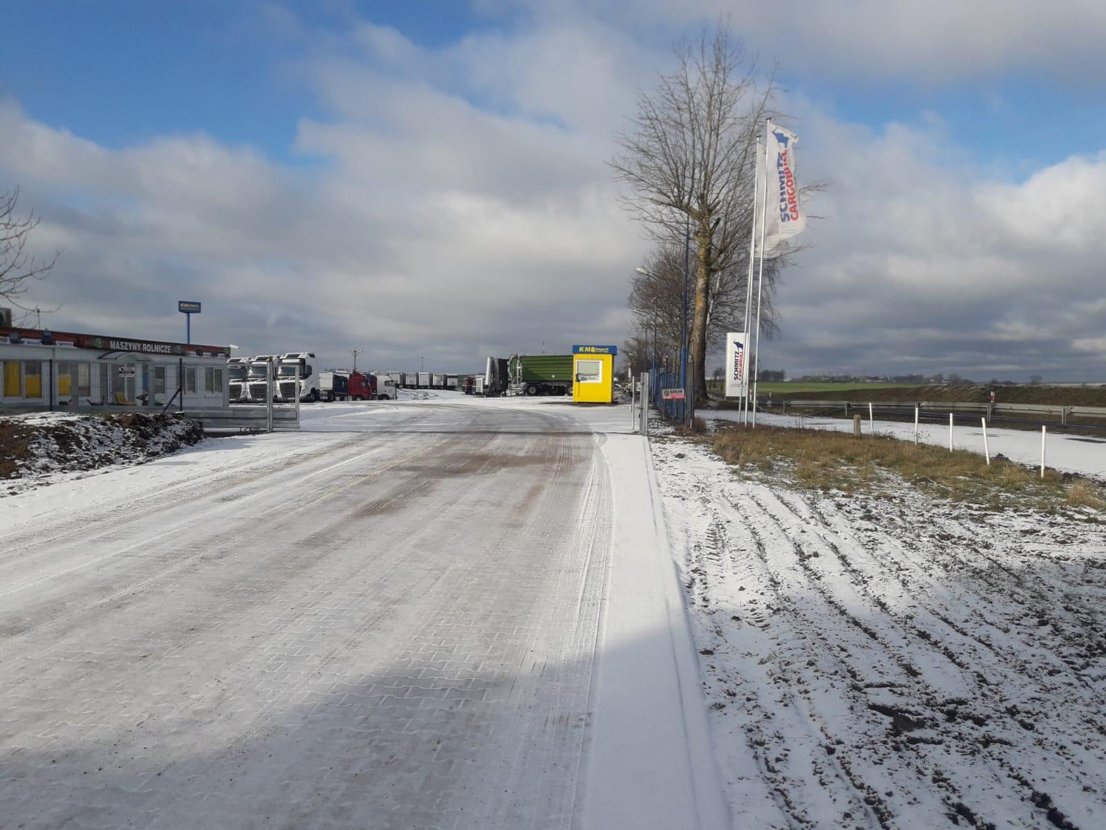 Nowa brama wjazdowa do KM IMPORT - KM Import