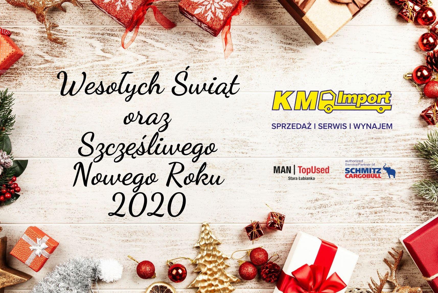Wesołych Świąt Bożego Narodzenia! - KM Import