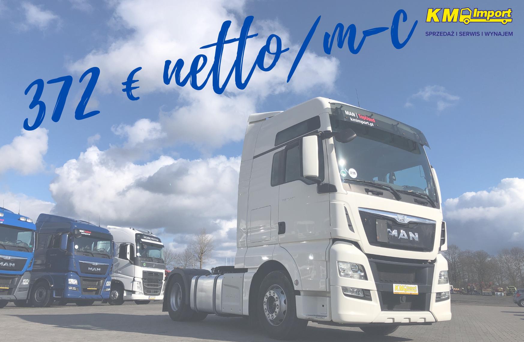 NOWA DOSTAWA Z RATĄ 372 EURO NETTO / m-c - KM Import