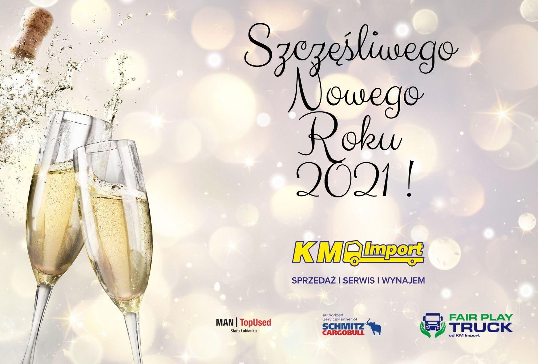 Szczęśliwego Nowego Roku! - KM Import
